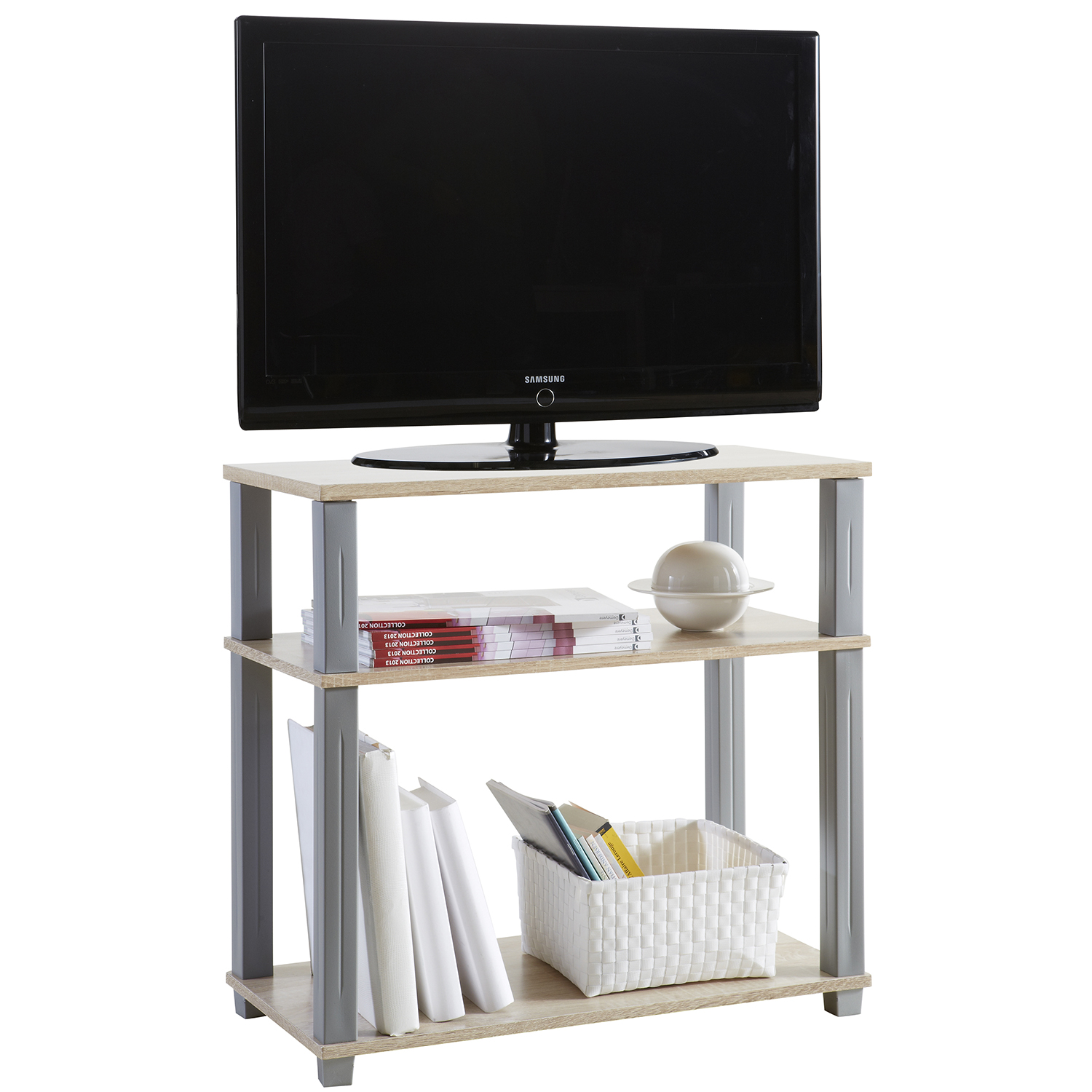 tv rack hifi tisch schrank fernsehtisch media m bel. Black Bedroom Furniture Sets. Home Design Ideas