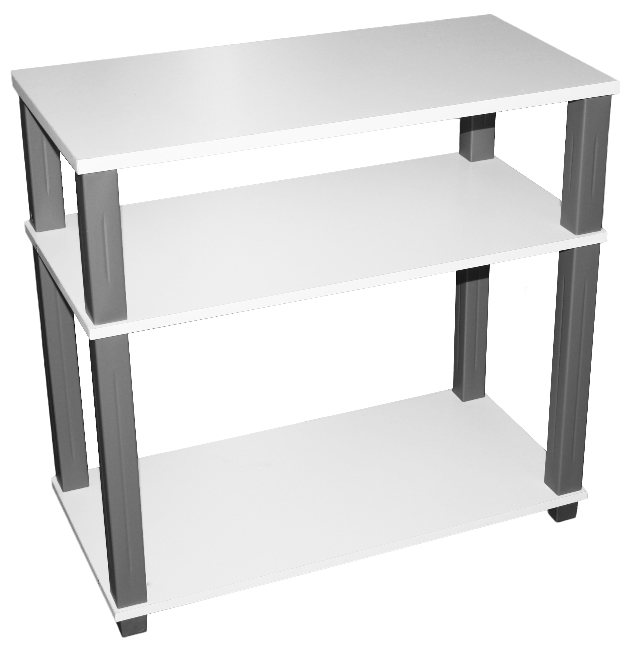 tv rack hifi tisch schrank fernsehtisch media m bel fernsehschrank regal weiss. Black Bedroom Furniture Sets. Home Design Ideas